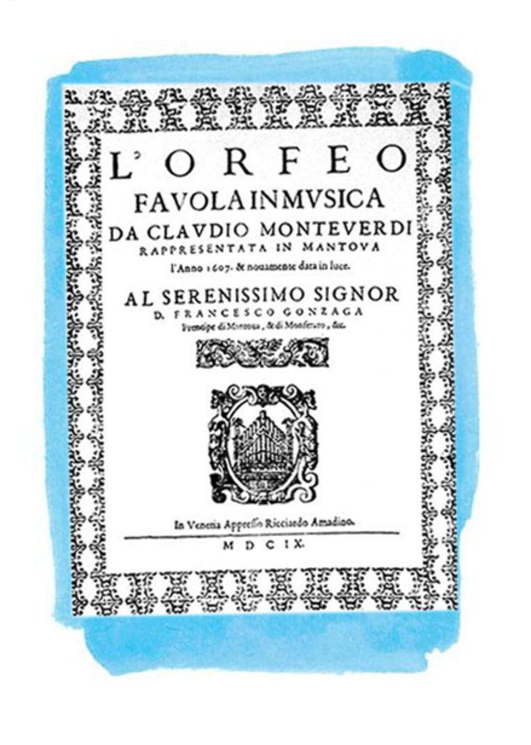 L'Orfeo (1607), proloog Beeld