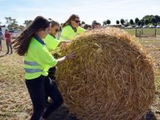 Strobalen rollen op hilarische Boerenlympics bij Farmers got Talent