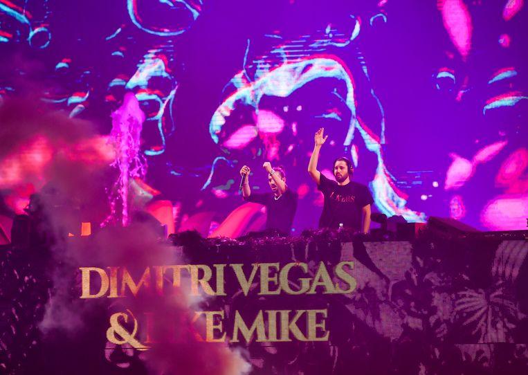 Dimitri Vegas en Like Mike in Sportpaleis