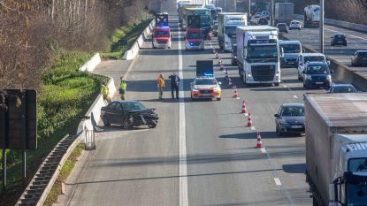 Ongeval op E40 in Affligem veroorzaakt file