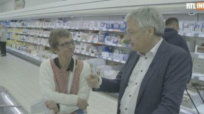 """Didier Reynders vertelt werkloze vrouw dat hij 11.000 euro per maand verdient: """"Of ik dat waard ben? Ik vind van wel"""""""