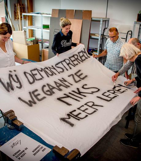 Deel Maas en Waalse docenten wel doorbetaald