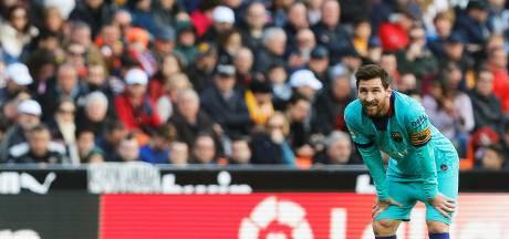 Premier couac pour Setién, le Barça sombre à Valence