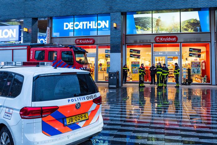 Kruidvat Aan Pieter Vreedeplein In Tilburg Korte Tijd Ontruimd