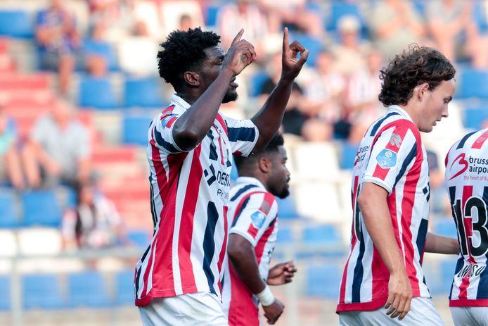 Kwasi Wriedt na zijn goal