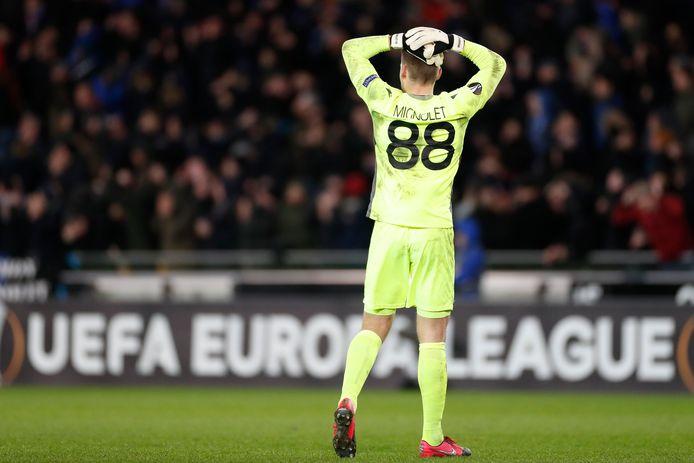 Entre regrets et satisfactions pour le Club de Bruges qui devra forger sa qualification à Manchester, jeudi prochain.