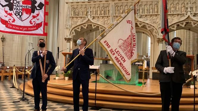 """Dan toch vlagwijding voor Mannen van 1980 in Sint-Pieterskerk: """"Da m' ons ni gon inaave"""""""
