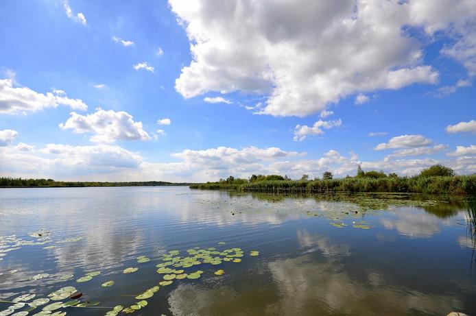 prachtig zomerweer op maandag in zuidoost Brabant met een mix van zon en stapelwolken