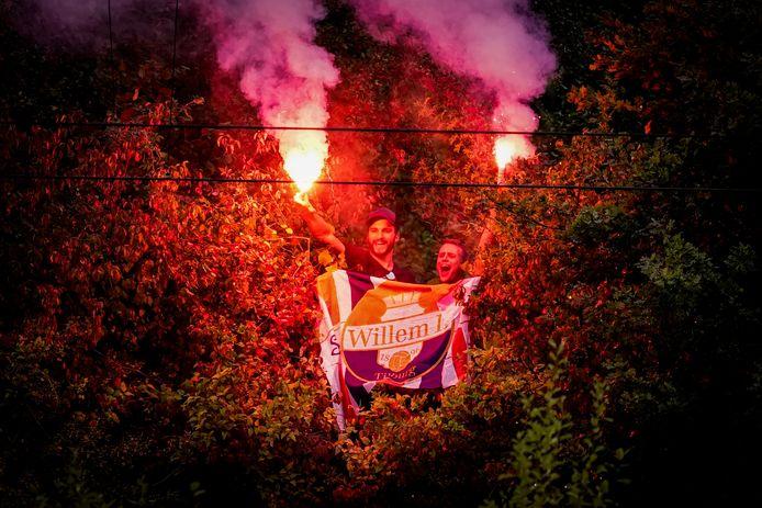 Ook het vorige Europese duel van Willem II tegen Progrès Niederkorn in Luxemburg moest zonder publiek worden gespeeld. Toen vierden honderden meegereisde Willem II-supporters feest rondom het stadion.