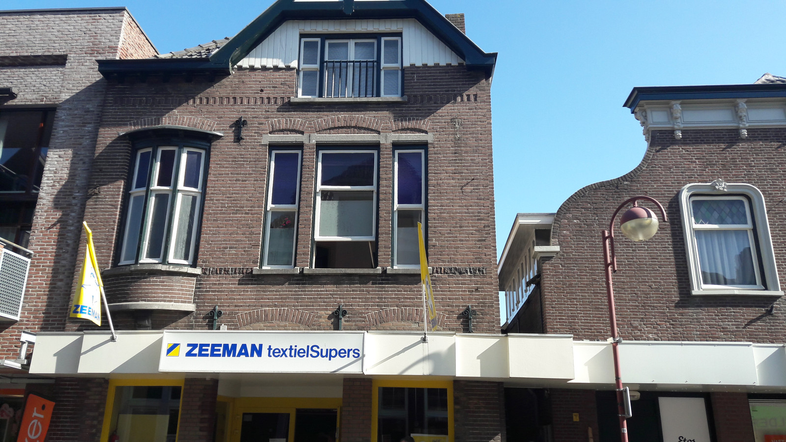 De woning boven de winkel van Zeeman in Kaatsheuvel werd meteen na de drugsvondst al gesloten.