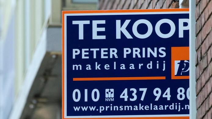 Het gaat hard met de huizenverkoop in Rotterdam.