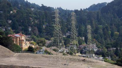 Deel Californië uit voorzorg zonder stroom om bosbranden te voorkomen