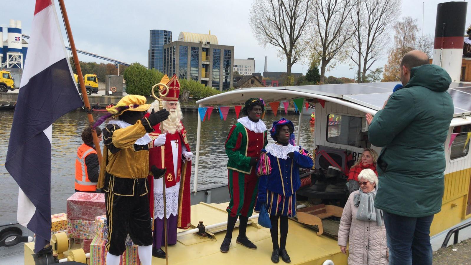 Sinterklaas en zijn Pieten zijn veilig aangekomen in Amersfoort.