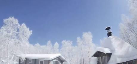 Webcam legt meteorietovergang vast in Lapland