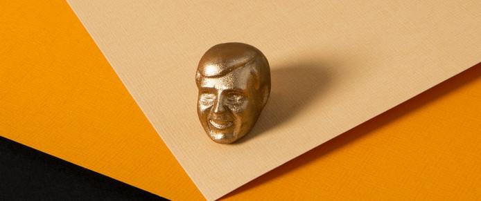 Het hoofd van de koning is een Tilburgse bonbon.