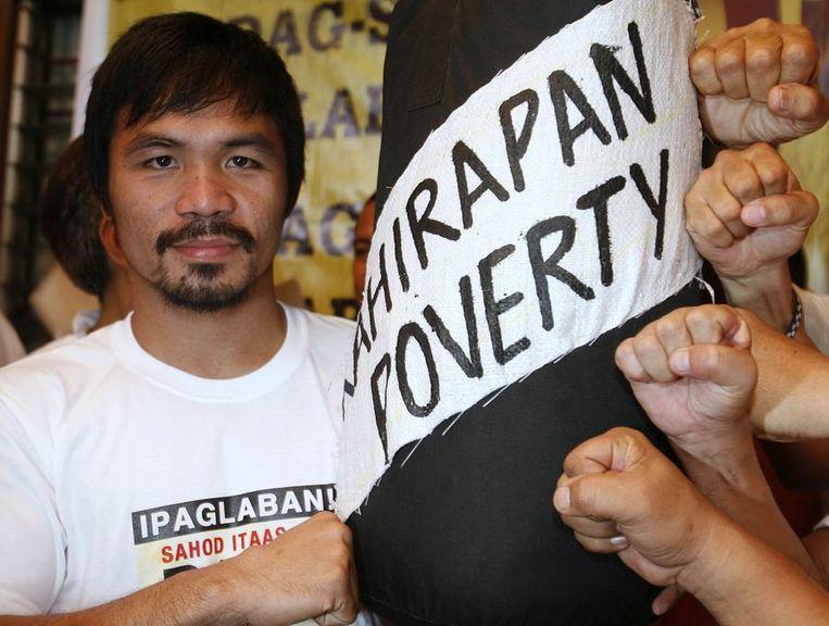 Manny 'Pacman' Pacquiao, 52,5 miljoen dollar. Beeld reuters