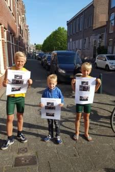 Bewoners vragen aandacht voor 'smerigste container van Den Haag'