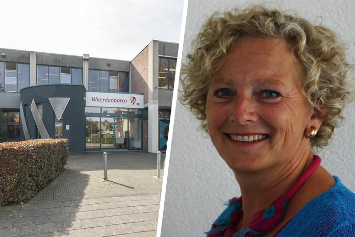 Mieke van den Broek van scholengemeenschap De Waerdenborch