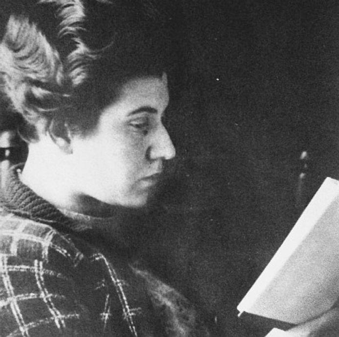 Etty Hillesum in 1941, het jaar dat zij aan haar dagboek begon.