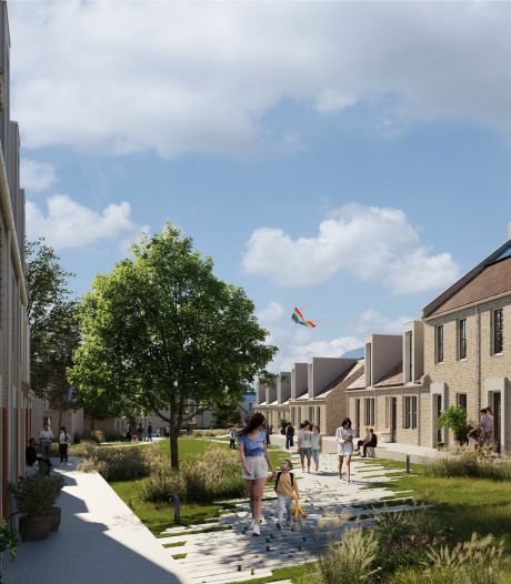 Wil jij hier wonen? Bergse Buren, 118 nieuwe woningen in Fort-Zeekant