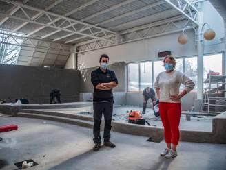Nieuw peuterbad in de maak in zwembad Olympos: door langere sluiting ook extra restauratiewerken