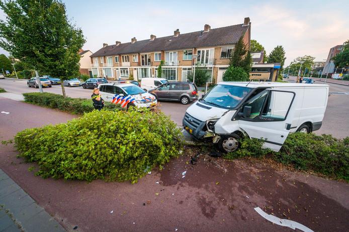 De man reed volgens getuigen veel te hard.