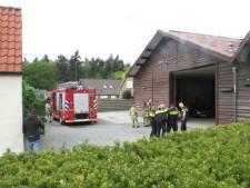 Gewonde bij brand in loods in Leersum