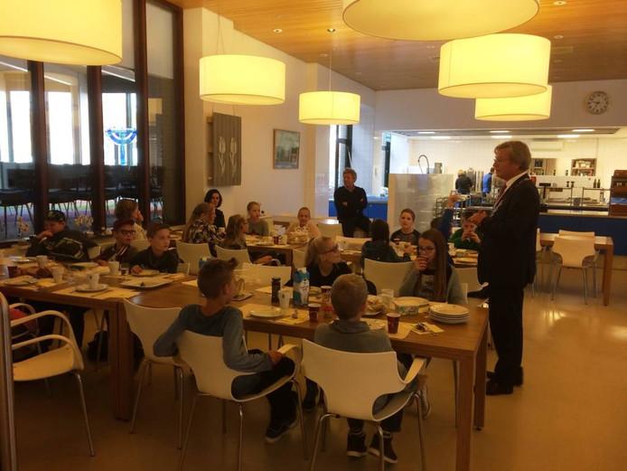 Een ontbijt met de burgemeester in Emmeloord.