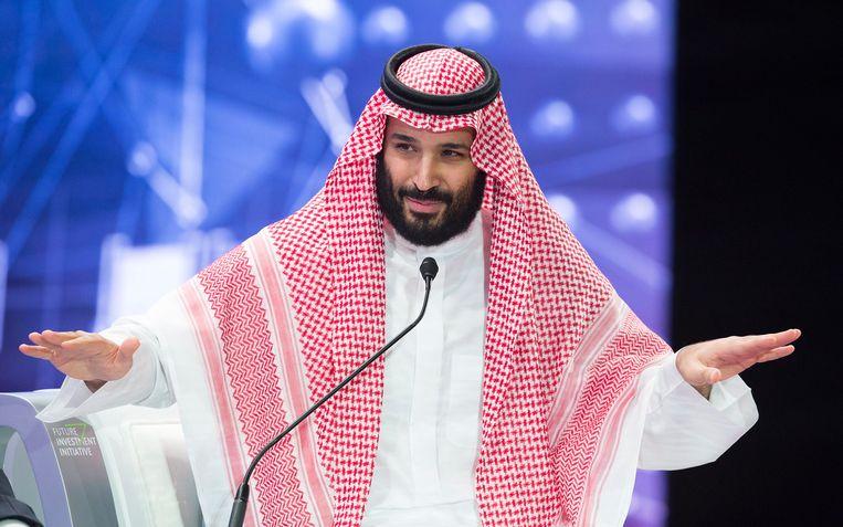 De Saudische kroonprins Mohammed bin Salman (33).