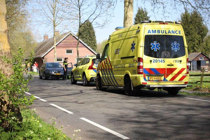 Wielrenner gewond bij val in Rijen
