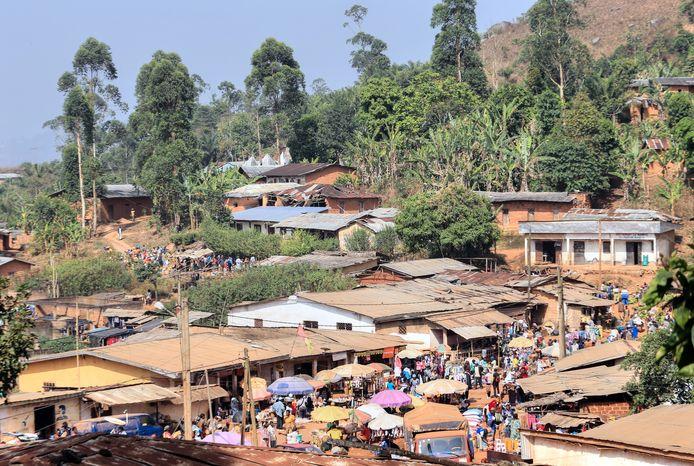 Bamenda in Kameroen