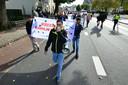 Demonstratie NVU in Enschede.