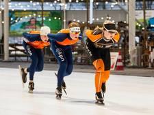 De kick van explosiviteit op het ijs, NK sprint in Breda