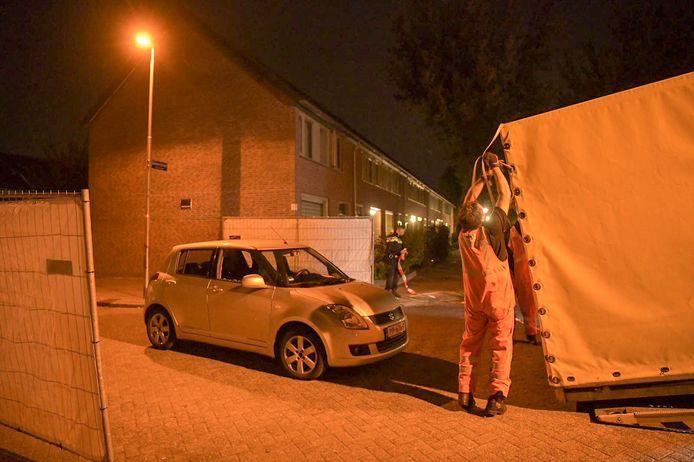 Onderzoek naar de liquidatie in Eindhoven.