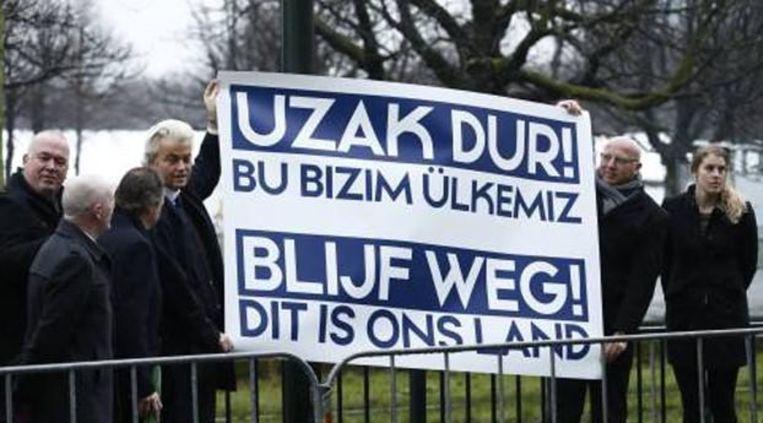 'Ik zou dit nooit met de PVV in verband brengen.' Beeld
