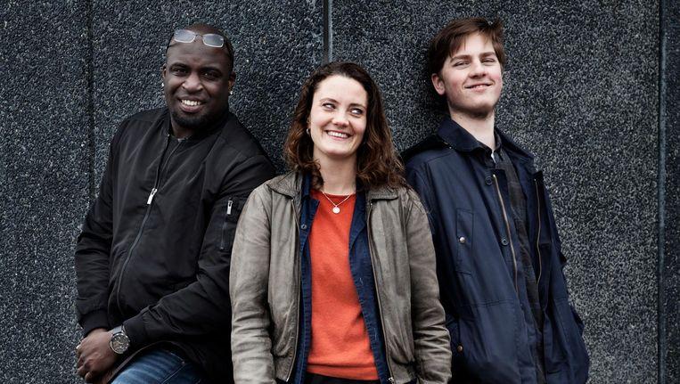 Drie kunstverkenners, actief (geweest) in Zuidoost, Noord en West: 'Kunstverkenner blijf je voor het leven' Beeld Ernst Coppejans