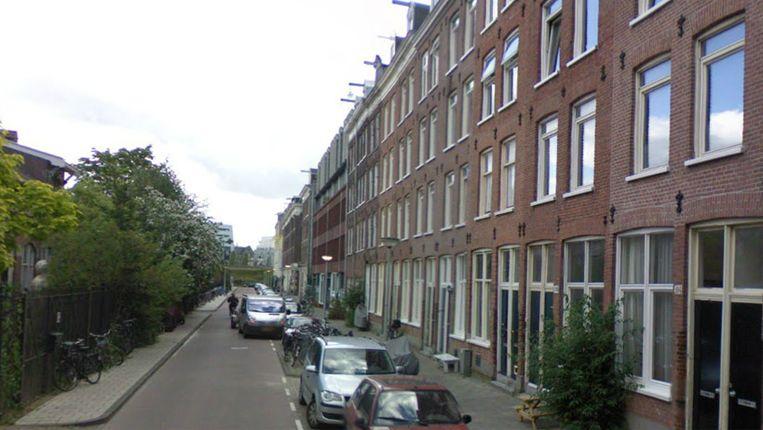 De Conradstraat in Oost. Beeld Streetview