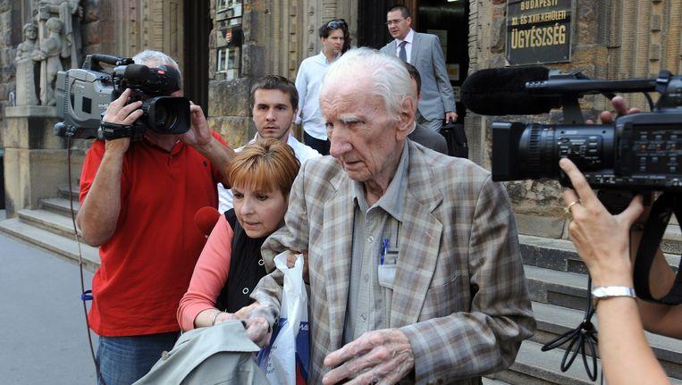 Laszló Csatary werd in juni in Hongarije aangeklaagd voor medeplichtigheid aan de moord op 15.700 Joden tijdens de Tweede Wereldoorlog.