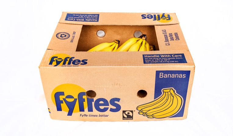 Amsresfoort -doos bananen. foto raymond rutting / de volkskrant Beeld raymond rutting