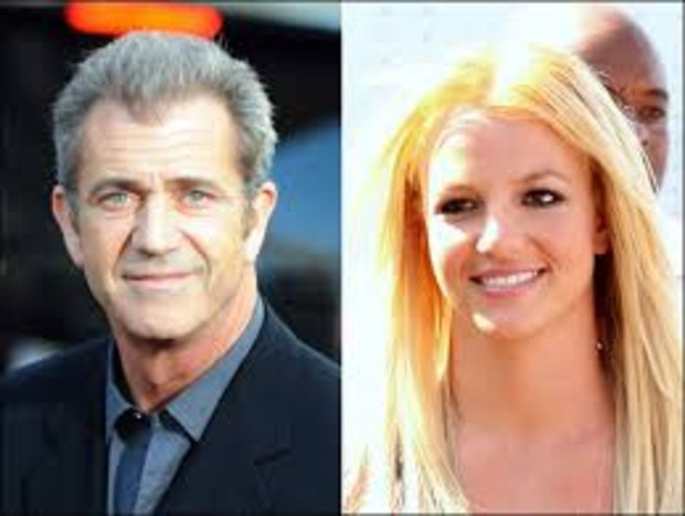 Mel Gibson en Britney Spears