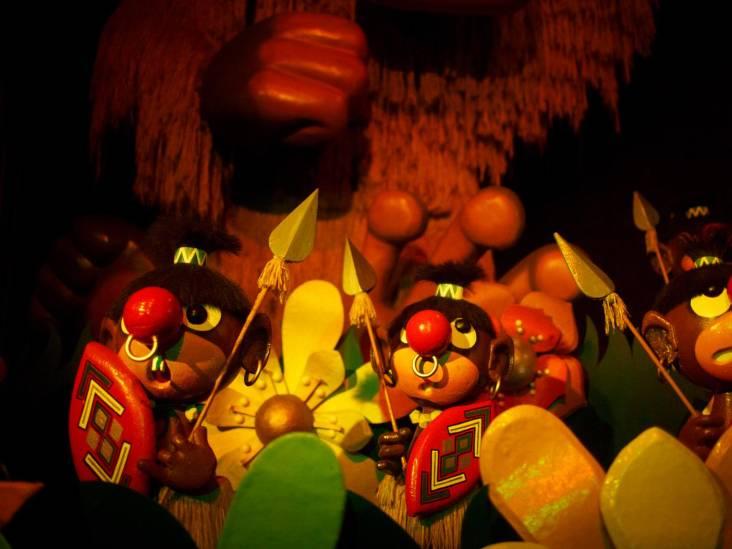 Carnaval Festival en De Oude Tufferbaan in Efteling tijdelijk gesloten in verband met grote opknapbeurt