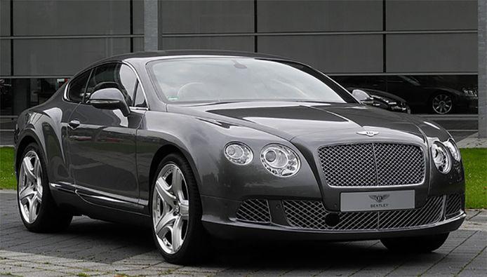 La Bentley Continental GT, un bolide qui fait craquer de nombreux footballeurs.