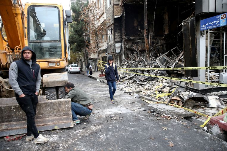 "Volgens Amnesty International vielen er in Iran al minstens 208 doden, maar geen ""duizenden""."