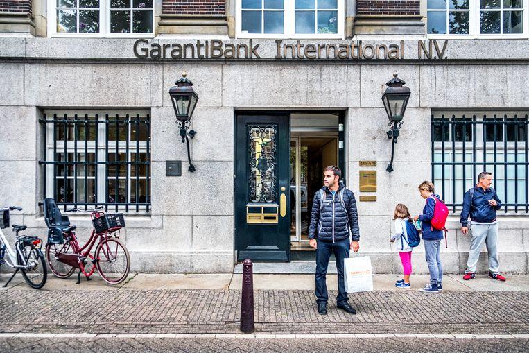 De Turkse Garantibank aan de Keizersgracht in Amsterdam. Beeld Raymond Rutting