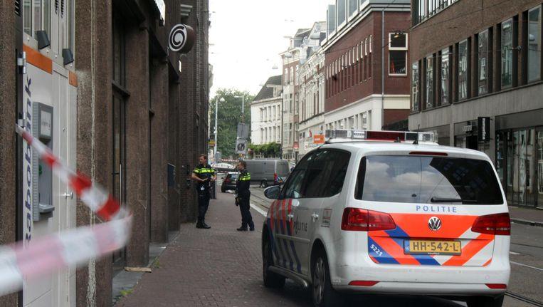 De afgezette Amstelstraat. Beeld anp