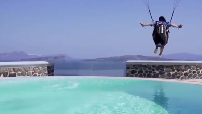 Het meest waanzinnige paragliding-filmpje ooit