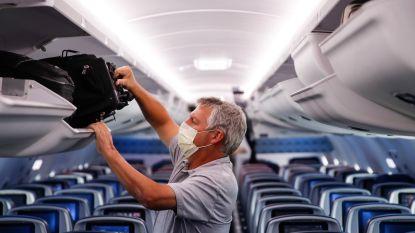 Luchtvaartsector wil temperatuur van passagiers meten en mondmaskers verplichten, maar geen lege stoelen