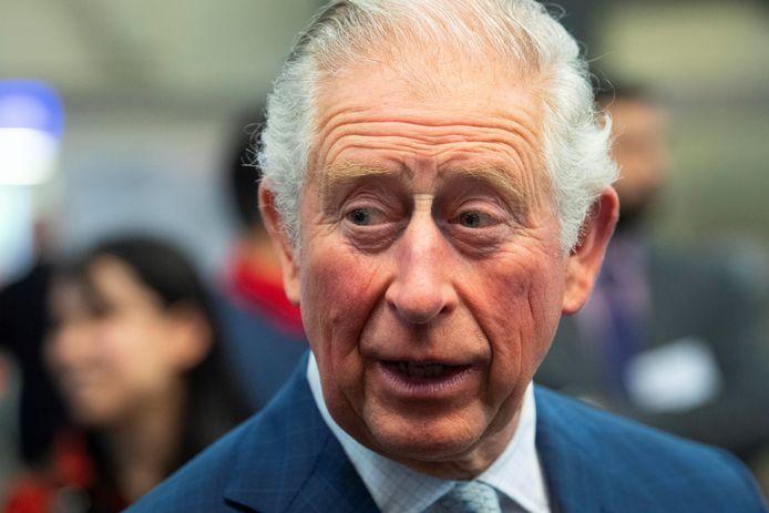 Prins Charles is positief getest
