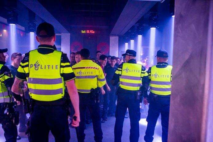 Grote politieoefening op stratumseind Eindhoven