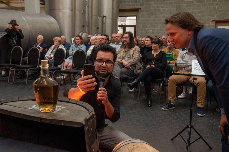 Wouter Van Hauwermeiren maakte een special APP voor de nieuwe Gold edition van de D-Day Gin.